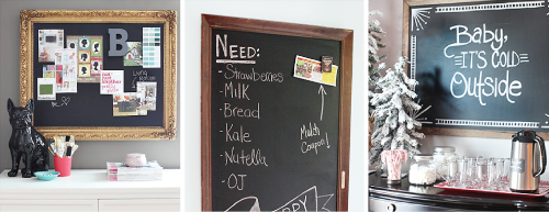 DIY Chalkboard Projects / 7th House on the Left