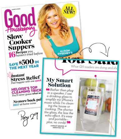 March Good Housekeeping Magazine Feature