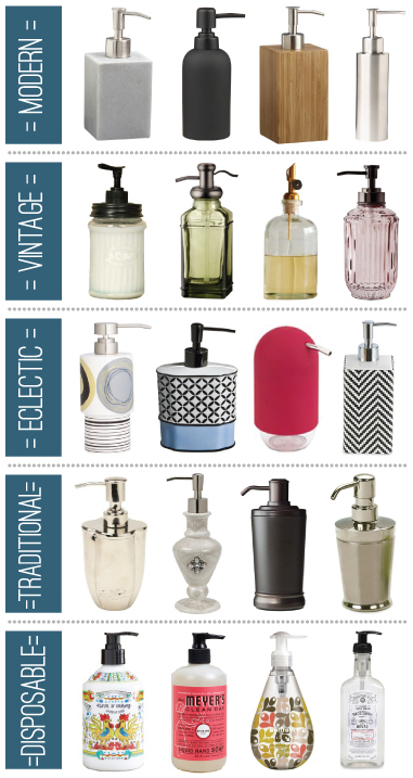 Soap Dispenser Round Up / 7th House on the Left