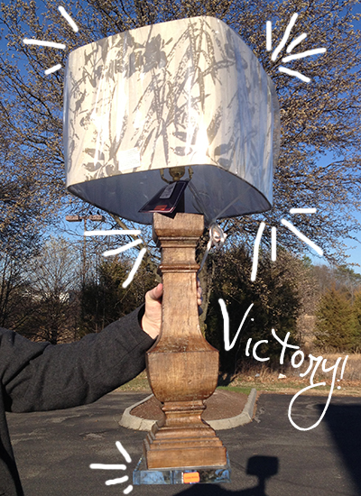 victorylamp DIY CUSTOM LAMPSHADE