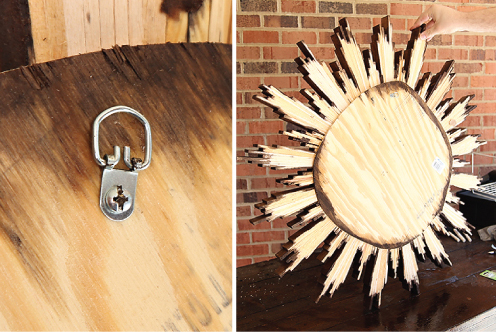 diymirrorbacking DIY SHIM SUNBURST MIRROR