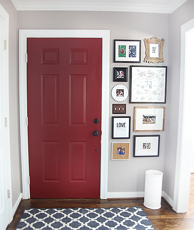 How to Install a Gallery Wall / 7th House on the Left