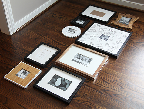 gallerywall floor HOW TO INSTALL A GALLERY WALL
