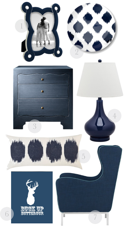 navyblue MAD ABOUT HUE: NAVY BLUE