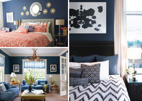 navyrooms MAD ABOUT HUE: NAVY BLUE
