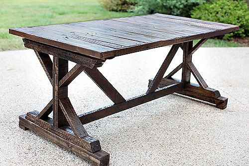 Upcycling a Roadside Table | 7th House on the Left