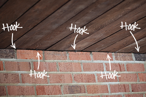 How to Install String Patio Lights / 7th House on the Left - INSTALLING OUTDOOR HAPPY LIGHTS €� 7th House On The Left