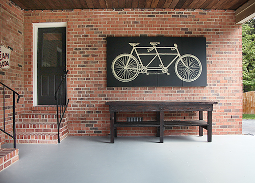 How to Weather-Proof Indoor Art for Outdoor Use // 7thhouseontheleft.com