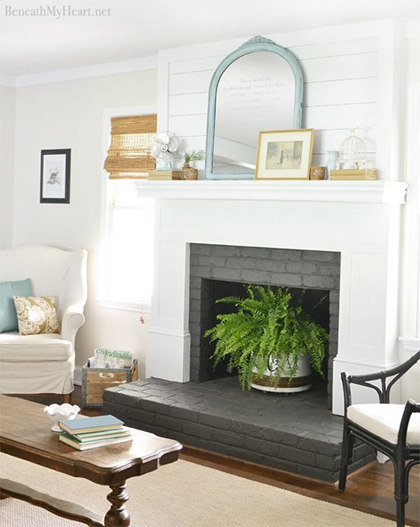 Fireplace Inspiration // 7thhouseonthelft.com