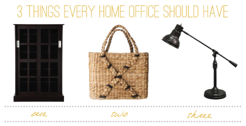 3 Things Every Home Office Should Have // Nate Berkus for Target
