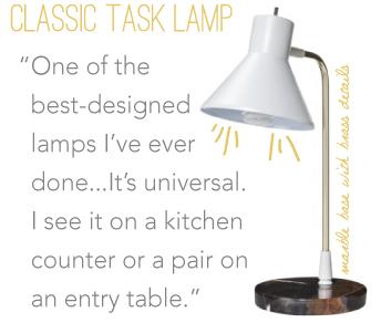 Classic Task Lamp // Nate Berkus for Target