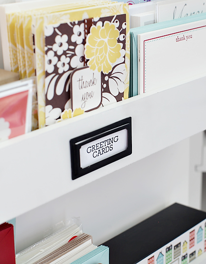 Greeting Card Storage // 7thhouseontheleft.com
