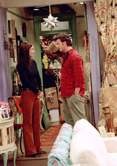 """Cleaning the Monica Closet / """"No, honey you're not sick! Look, I don't love you because you're organized, I love you in spite of that."""""""