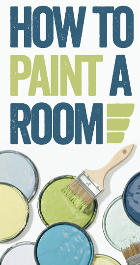 How to Paint a Room // 7thhouseontheleft.com