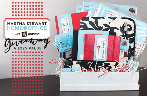 Martha Stewart Home Office + Avery Giveaway // 7thhouseontheleft.com