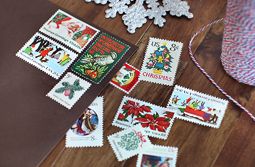 Unused Vintage Holiday Stamps / 7thhouseontheleft.com
