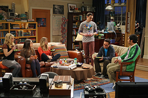 On the Set: The Big Bang Theory / 7thhouseontheleft.com