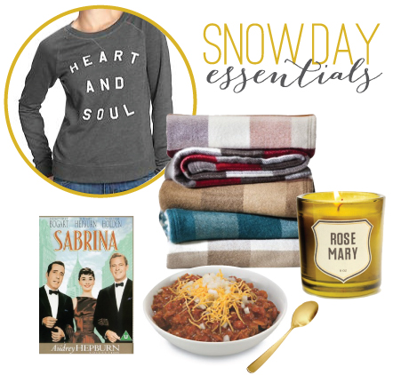 Snow Day Essentials // 7thhouseontheleft.com