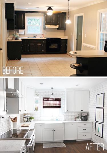Kraftmaid Cabinet Review (and a Before & After) // 7thhouseontheleft.com