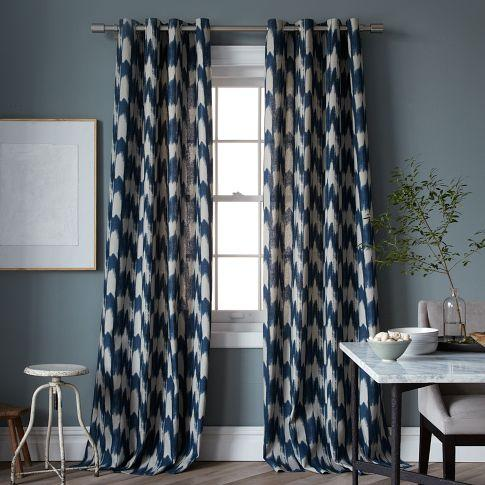 West Elm Curtains // 7thhouseontheleft.com