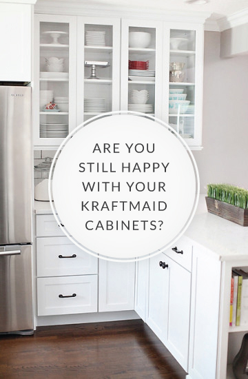 Q+A: KraftMaid Kitchen Cabinets – 7th House on the Left