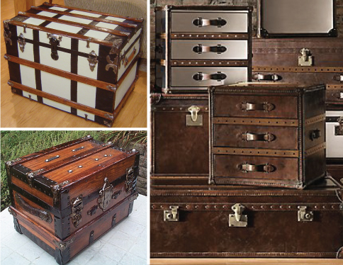 Trunk Makeover Inspiration // 7thhouseontheleft.com