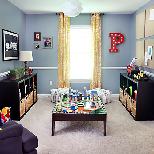 Playroom Makeover // 7thhouseontheleft.com // #targetinnercircle