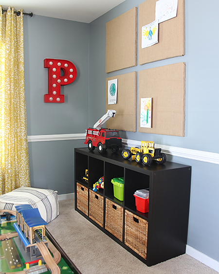 Playroom Makeover // 7thhouseontheleft.com
