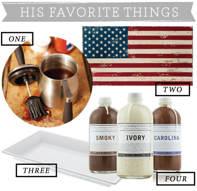 His Favorite Things / 7thhouseontheleft.com / #4thofjuly