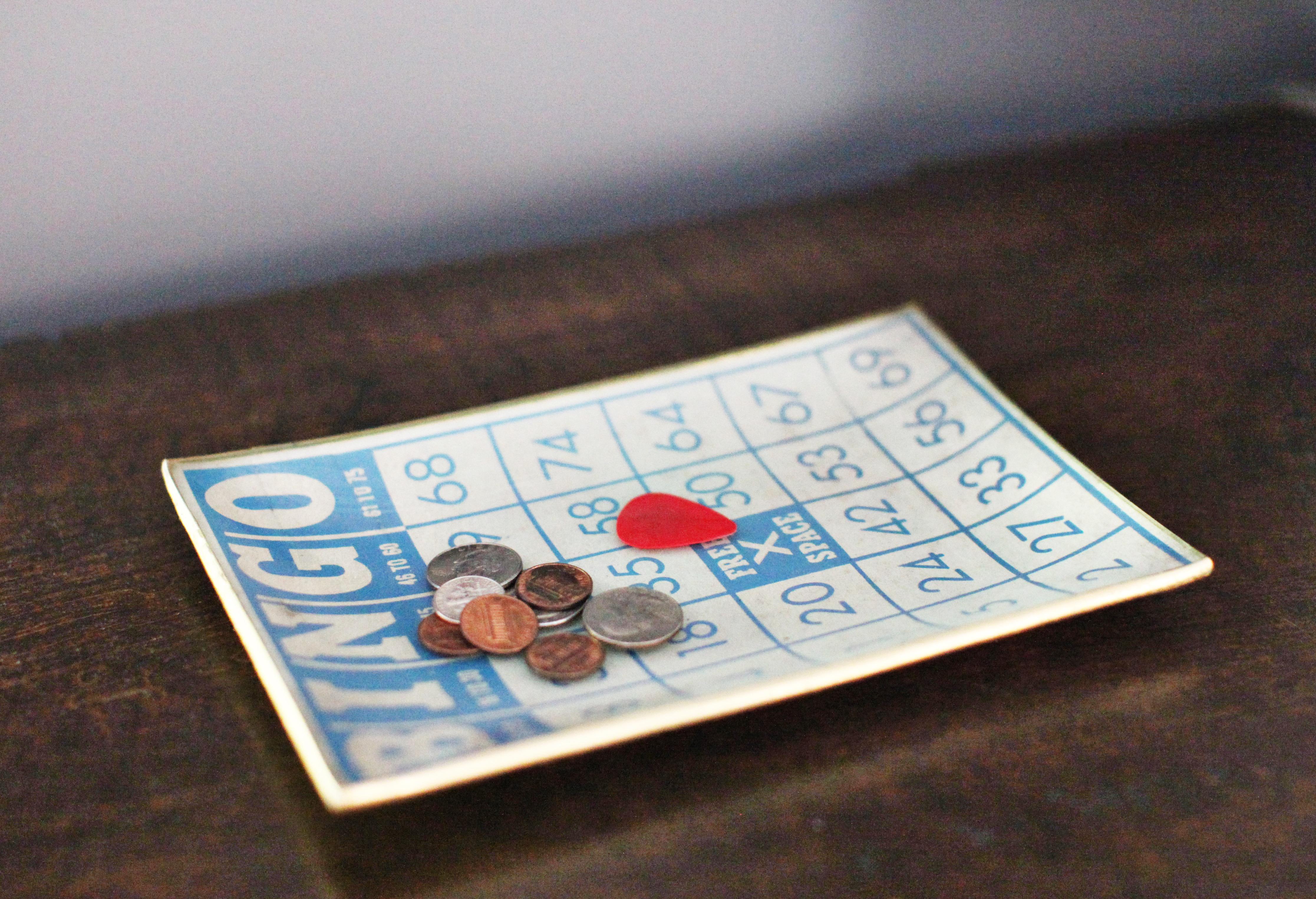 Catchall Bingo Tray / 7thhouseontheleft.com