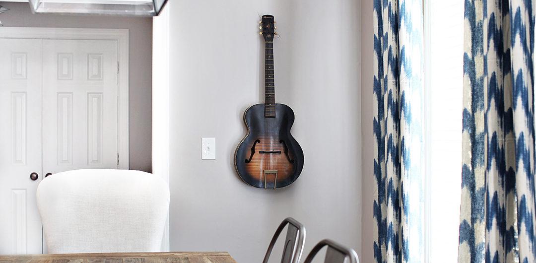 Guitar Wall Art / 7thhouseontheleft.com