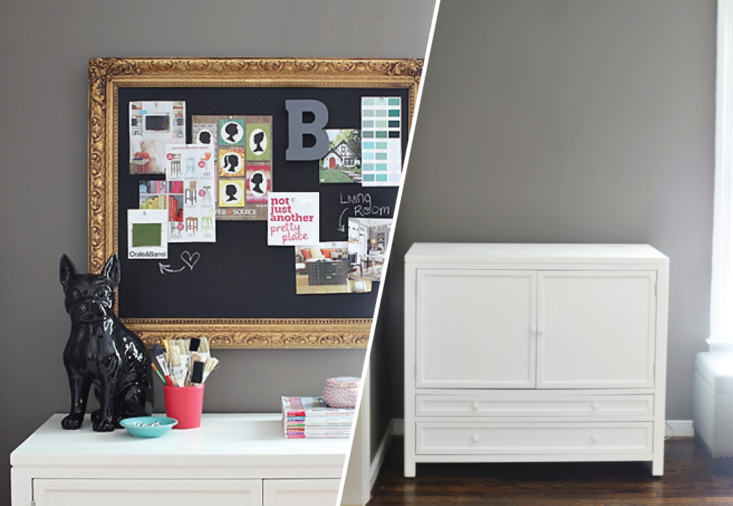 Pottery Barn-Inspired Pinboard
