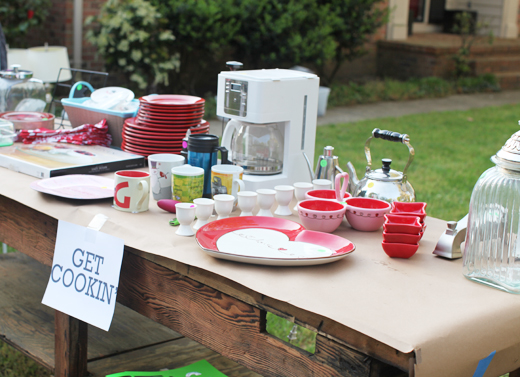 garage sale setup ideas - Organized Garage Sales Get Inspired simply organized