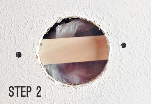 How To Patch A Hole In A Textured Ceiling 7th House On